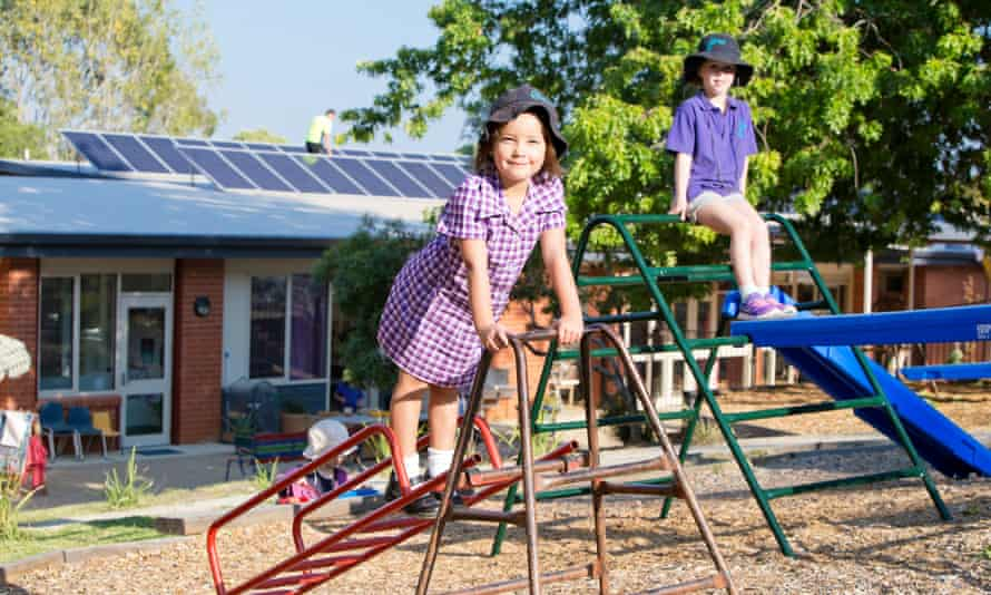 Corena's third community solar project at Beechworth Montessori School in Victoria.
