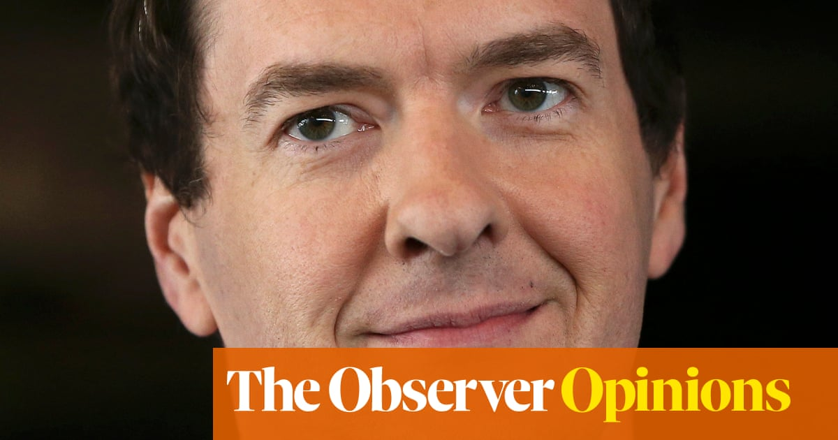 George Osborne at the British Museum: what do they see in him?