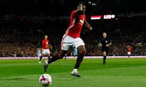Paul Pogba dejected.
