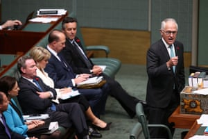 The Prime Minister Malcolm Turnbull makes a statement on the election of Donald Trump.