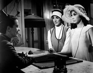 Starring alongside Julie Andrews in the 1967 fim Thoroughly Modern Millie