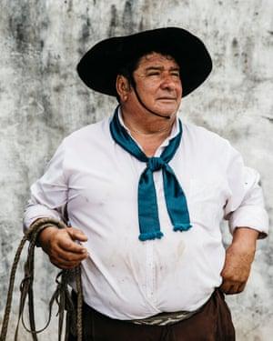 Mecho, a gaucho from the Ibera region.