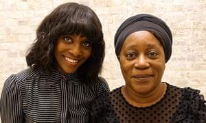 Presenter Brenda Emmanus (left) with artist Sonia Boyce in Whoever Heard of a Black Artist? Britain's Hidden Art History.