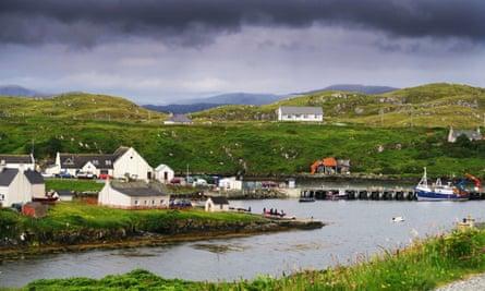 Hebridean village