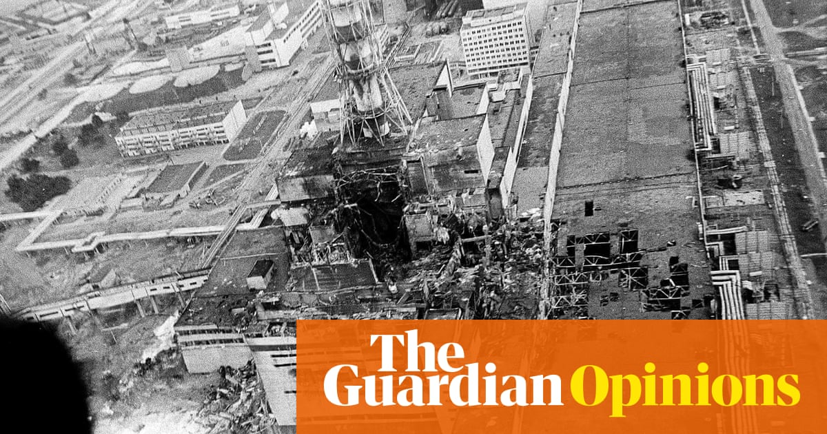 The political fallout of chernobyl is still toxic natalie aerial view of the chernobyl nuclear plant after the explosion in april 1986 freerunsca Images