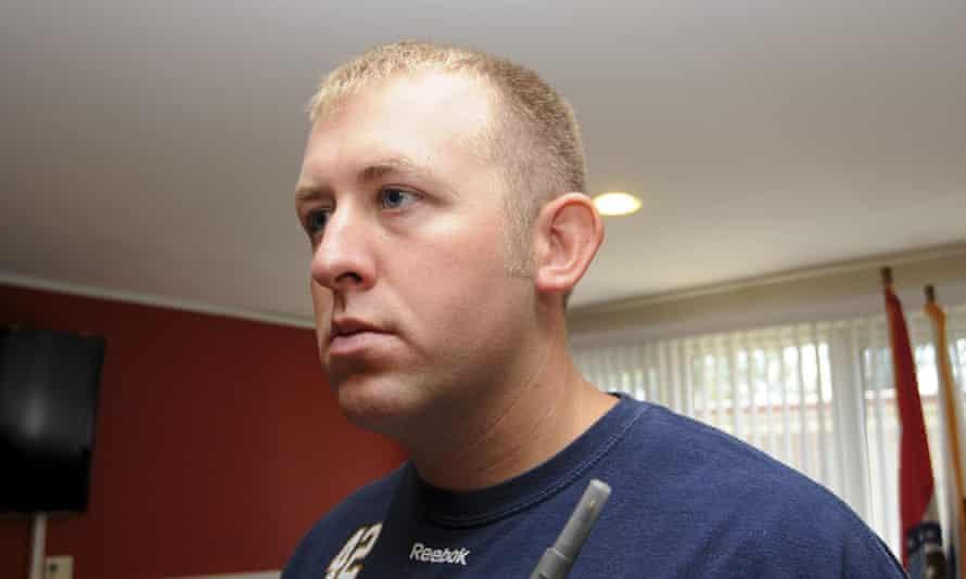 Darren Wilson, the officer who shot Michael Brown.