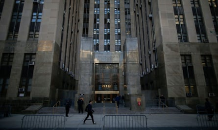 New York criminal court, where Harvey Weinstein's rape trial played out.