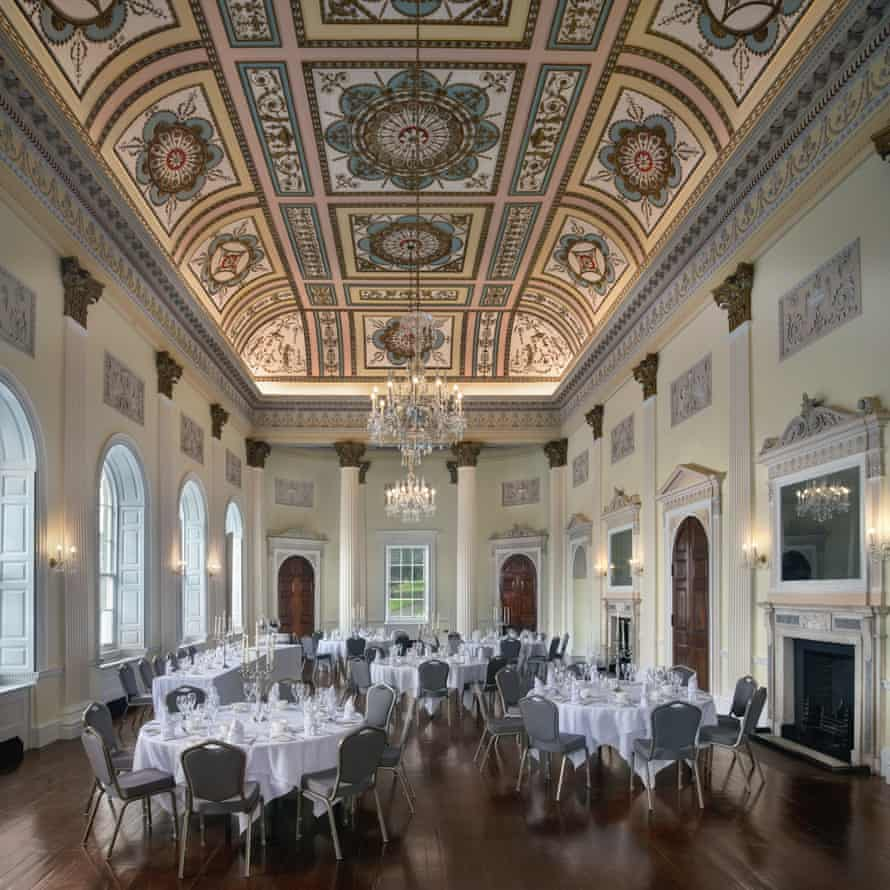Buxton Crescent's Assembly Rooms, UK.