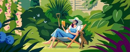 Summer reads illustration