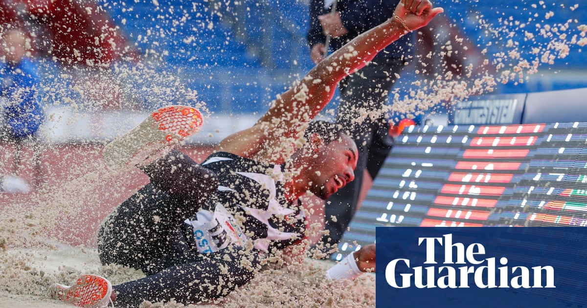 Christian Taylor, Olympic triple jump champion and Tokyo favorite, ruptures achilles