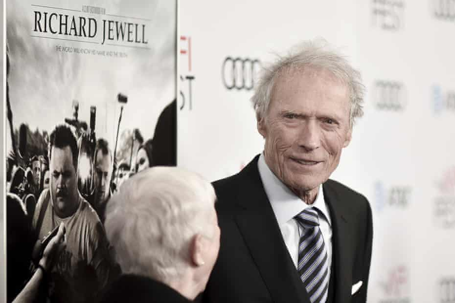 Clint Eastwood at the Richard Jewell premiere