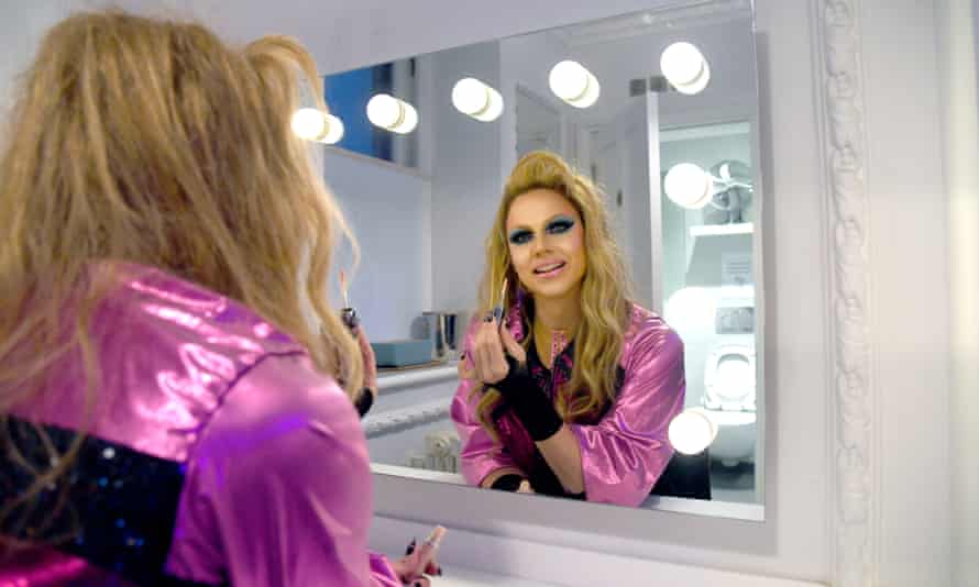 Drag Race breakout star Courtney Act.