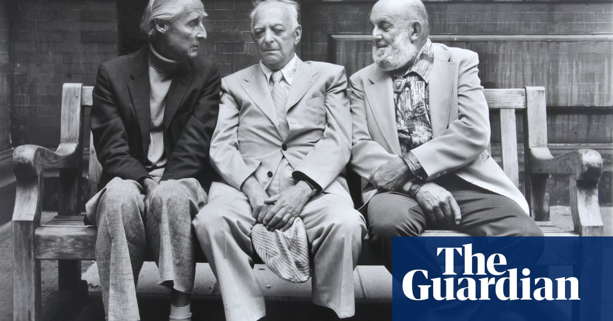 Ansel Adams, Brassaï and Bill Brandt sitting on a bench: Paul Joyce's best photograph
