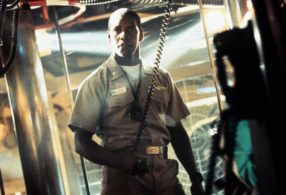 Warp factor … Denzel Washington in Crimson Tide, with added Star Trek dialogue by Quentin Tarantino.