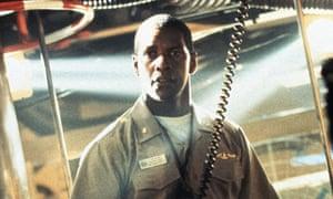 Captain, my captain … Denzel Washington in Crimson Tide.