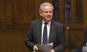 Julian Lewis speaking in debate in the House of Commons