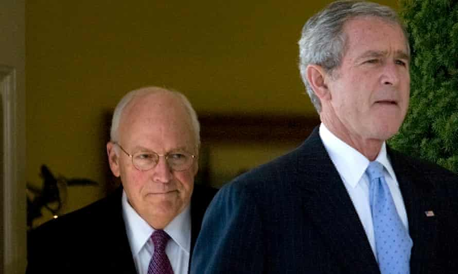 Dick Cheney and George W Bush in 2007