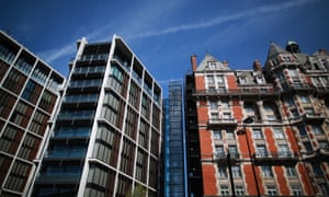 Flats in some of the wealthiest parts of London are being bought up unseen by overseas investors.