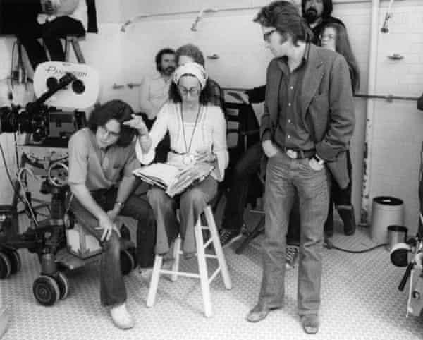 'Distributors all turned us down' … Michael Douglas on the set.