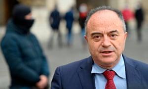 The anti-mafia prosecutor Nicola Gratteri