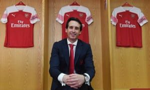 Unai Emery was brave to try to speak English from his very first press conference as Arsenal manager.