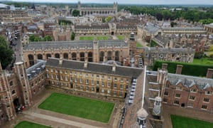 'Cambridge, my own university, is looking inward to try to tackle this pernicious problem.'
