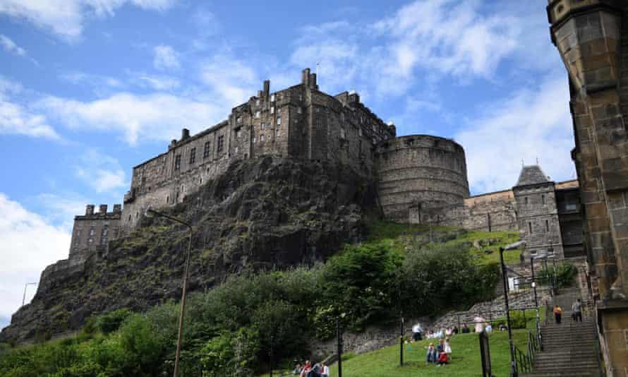 Edinburgh Castle in Edinburgh