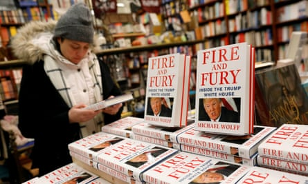 Fire and Fury by Michael Wolff, the daddy of all Trump books, goes on sale in January 2018.