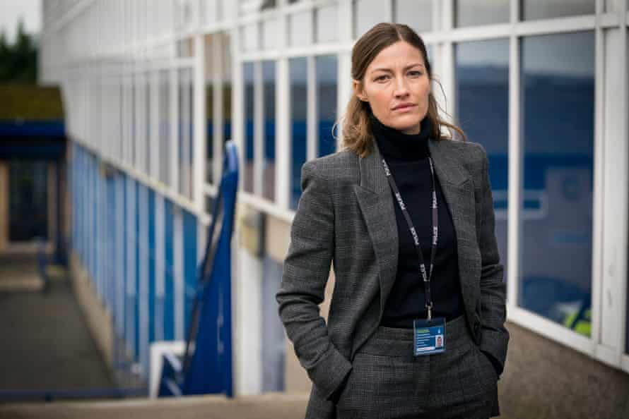 Kelly Macdonald as DCI Joanne Davidson in the new series of Line of Duty.