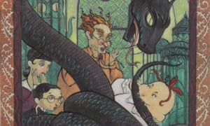 No happy endings here ... The Reptile Room by Lemony Snicket AKA Daniel Handler.
