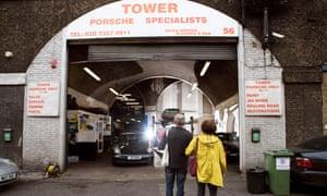Tower Porsche, a repairer of classic cars