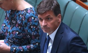 Angus Taylor in the House today.