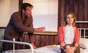 Marriage of convenience? Peter Hamilton Dyer as George Orwell and Cressida Bonas as Sonia Brownell in Mrs Orwell.