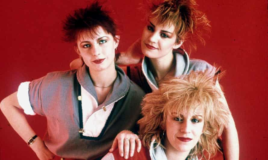 'There was an avalanche of sneering from the media' … from left, Keren Woodward, Siobhan Fahey and Sara Dallin in 1983.