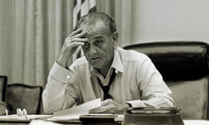 President Lyndon Johnson in 1968