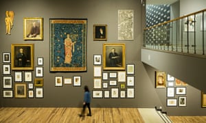 Artworks on display in the Whitworth Art Gallery