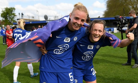 Chelsea clinch WSL title on final day – as it happened