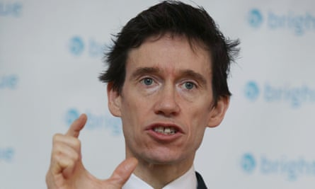 Rory Stewart, prisons minister.