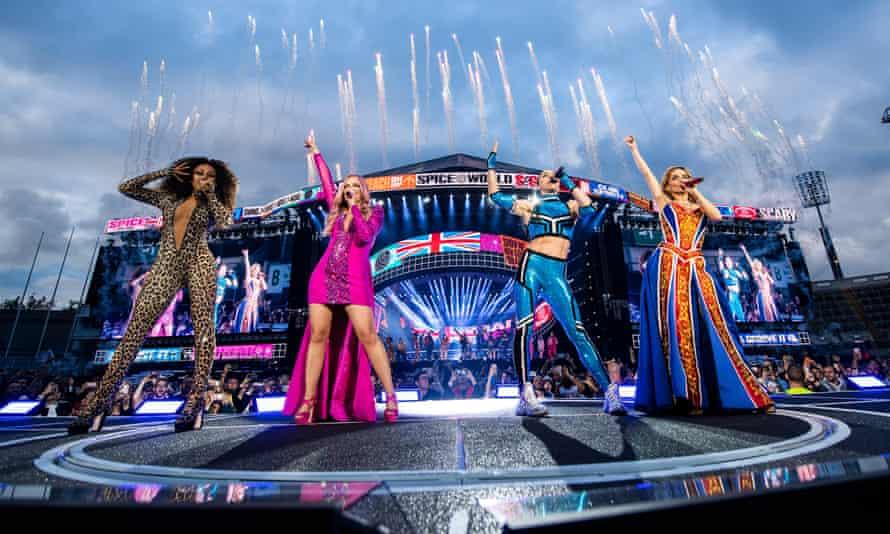 The Spice Girls' concert at Croke Park in Dublin