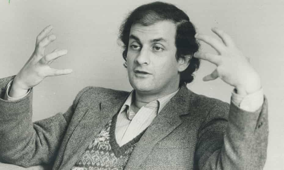 Salman Rushdie, who won the Booker in 1981 for his second novel Midnight's Children.