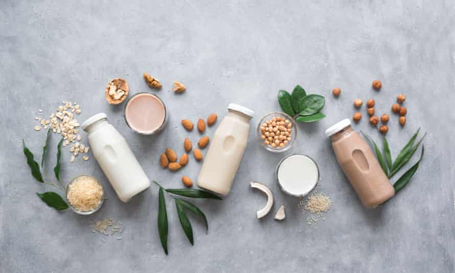 Oats, nuts and seed milks.