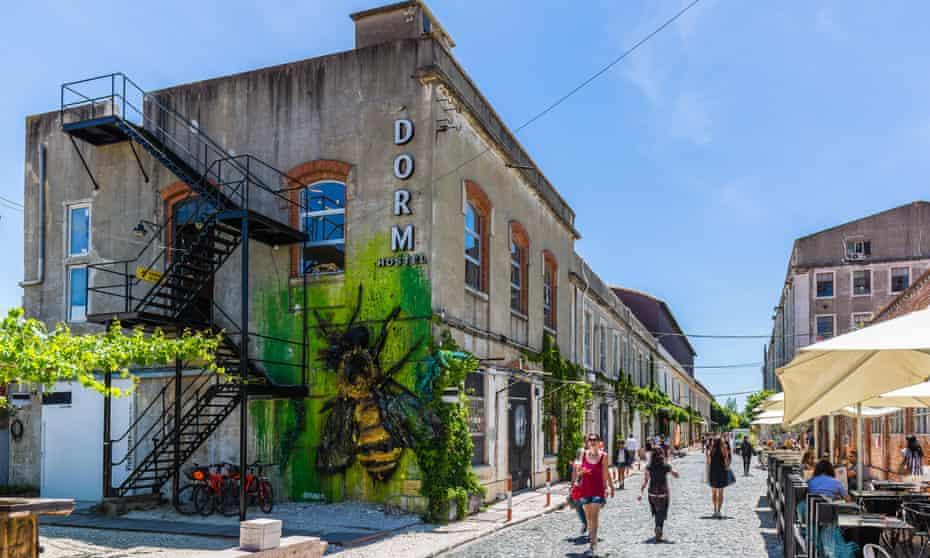Dorm at LX Factory, Lisbon