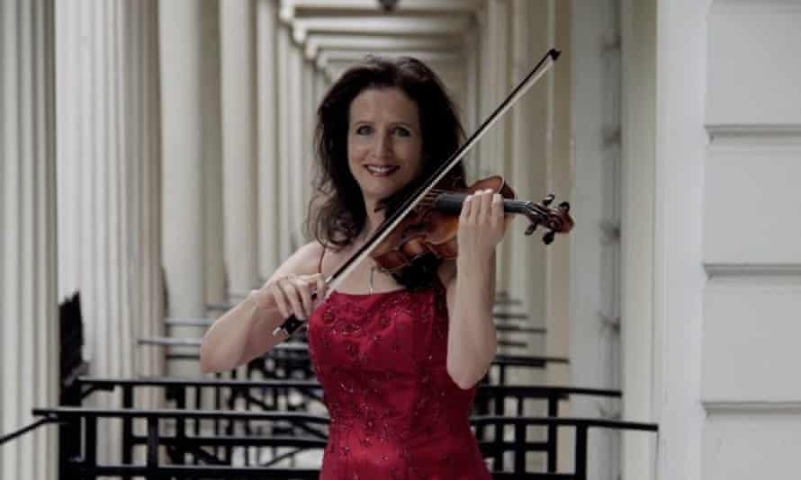 Vibrant playing … violinist Madeleine Mitchell