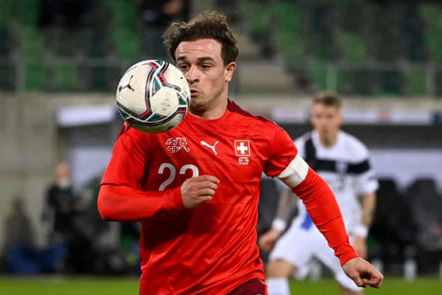 Xherdan Shaqiri remains Switzerland's biggest star and is expected to start at No. 10 despite a lack of matches last season for Liverpool.