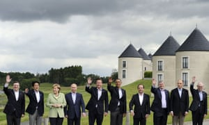 Leaders at the G8 summit in 2013