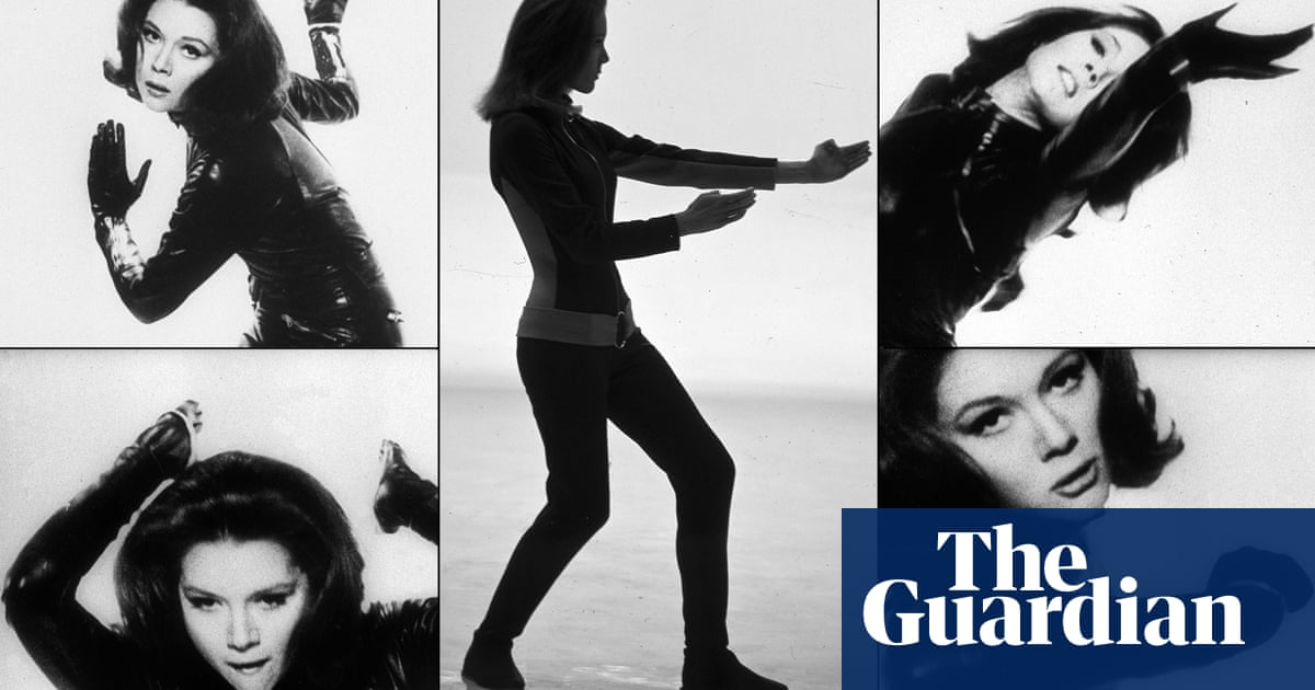 diana rigg a life in pictures television radio the guardian diana rigg a life in pictures