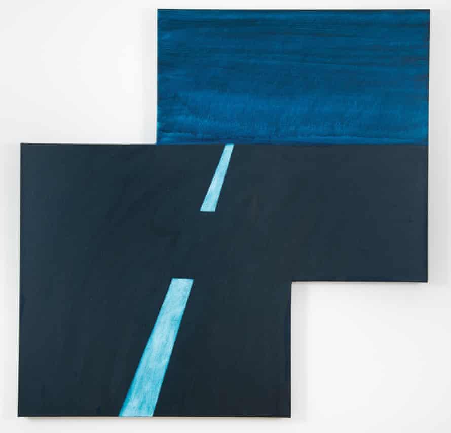 Maricopa Highway, 2014, by Mary Heilmann.