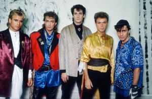 The Parade tour era saw the band in frock coats and lace-trim sleeves, shoulder pads, silk shirts and leather trousers.