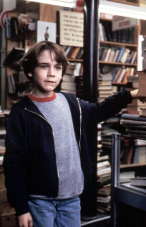 Barret Oliver as Bastian in the film version of The Neverending Story.