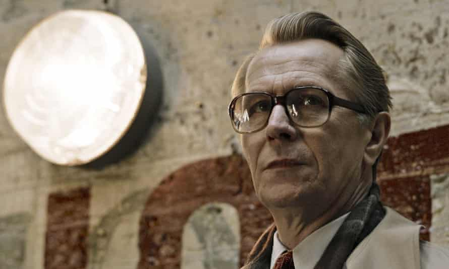 Gary Oldman plays the spyhunter George Smiley in Tinker Tailor Soldier Spy.